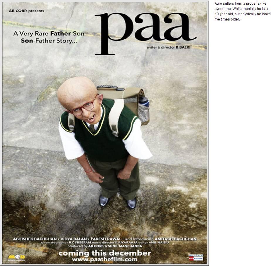 paa2 Big Bs Paa look revealed!