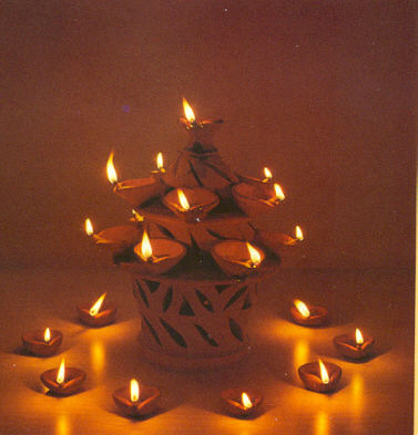Deepwali diyas  [Best Wishes] Happy Diwali to you and your family!!!