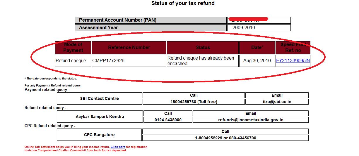incometaxrefund 3 Check Income Tax Refund Status Online