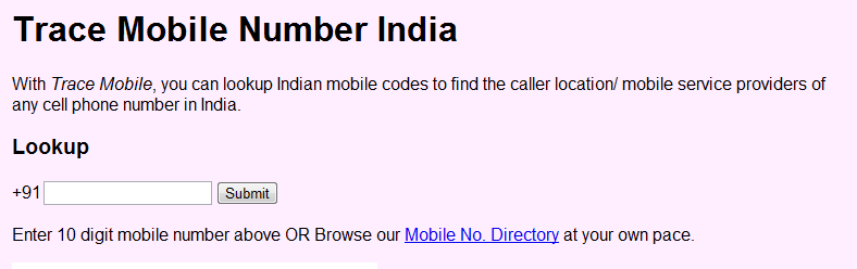 TraceMobileNumber How To Trace Mobile Number Location