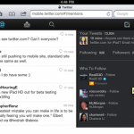 HTML5 Version for iPAD Launched by Twitter